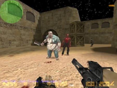 Скрин-2: Купить зомби сборку КС 1.6